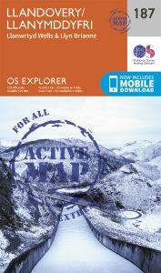 OS Explorer Active - 187 - Llandovery