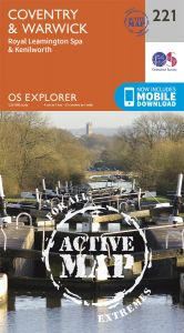 OS Explorer Active - 221 - Coventry & Warwick