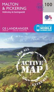 OS Landranger Active - 100 - Malton & Pickering, Helmsley & Easingwold