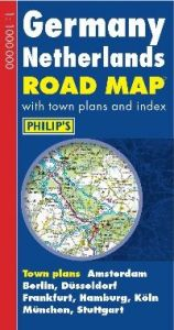 Philips Road Map Europe – Germany & Netherlands