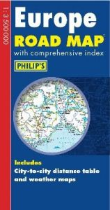Philips Road Map Europe – Europe