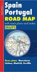 Philips Road Map Europe – Spain & Portug