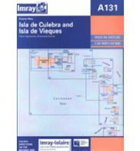 Imray A Chart - Isla De Culebra & Isla De Vieques (A131)
