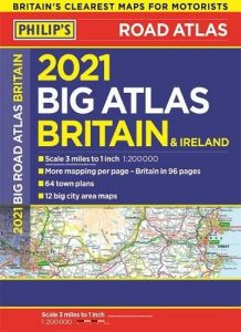 Philips Big Road Atlas Britain & Ireland - A3 NON Spiral