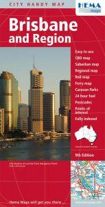 Hema City Map - Brisbane & Region Handy