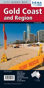 Hema City Map - Gold Coast & Region Handy