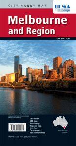 Hema City Map - Melbourne & Region Handy