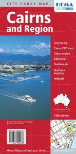 Hema City Map - Cairns & Region Handy