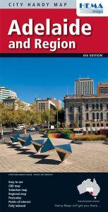 Hema City Map - Adelaide & Region Handy
