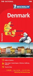 Michelin National Map - 749 - Denmark