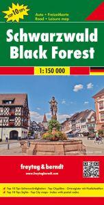 Freytag & Berndt Map - Black Forest [ Schwarzwald]