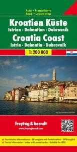 Freytag & Berndt Map - Croatia Coast