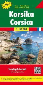 Freytag & Berndt Map - Corsica