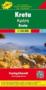 Freytag & Berndt Map - Crete