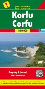 Freytag & Berndt Map - Corfu