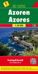 Freytag & Berndt Map - Azores