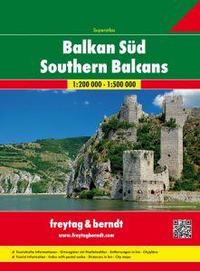 Freytag & Berndt Map - Balkans Southern Super Atlas