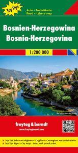 Freytag & Berndt Map - Bosnia Herzegovina