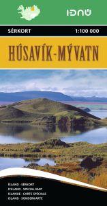 Ferdakort - Iceland Regional - Husavik / Myvatn