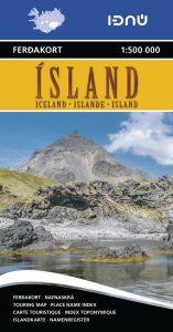 Ferdakort - Iceland Regional - Iceland