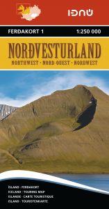 Ferdakort - Iceland Regional - Iceland Northwest