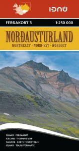 Ferdakort - Iceland Regional - Iceland Northeast