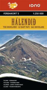 Ferdakort - Iceland Regional - Iceland Highlands