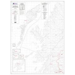 OS Admin Boundry Map - West Scotland