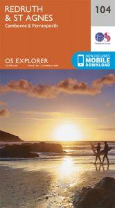 OS Explorer - 104 - Redruth & St Agnes