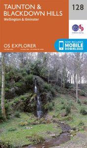 OS Explorer - 128 - Taunton & Blackdown Hills