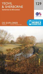 OS Explorer - 129 - Yeovil & Sherborne