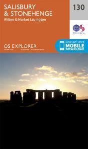 OS Explorer - 130 - Salisbury & Stonehenge