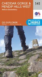OS Explorer - 141 - Cheddar Gorge & Mendip Hills West