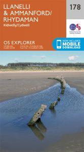 OS Explorer - 178 - Llanelli & Ammanford