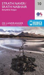 OS Landranger - 10 - Strathnaver, Bettyhill & Tongue
