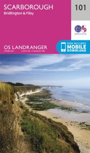 OS Landranger - 101 - Scarborough, Bridlington & Filey