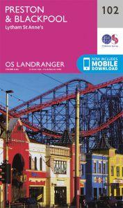 OS Landranger - 102 - Preston & Blackpool, Lytham