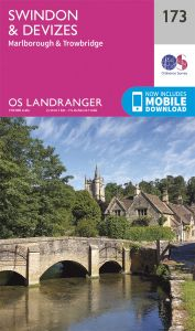 OS Landranger - 173 - Swindon & Devizes, Marlborough
