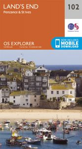 OS Explorer - 102 - Land's End