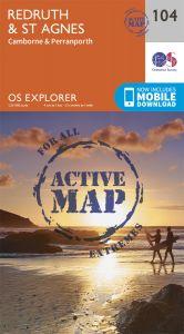 OS Explorer Active - 104 - Redruth & St Agnes