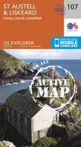 OS Explorer Active - 107 - St Austell & Liskeard