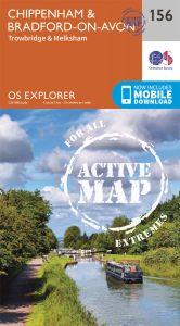 OS Explorer Active - 156 - Chippenham & Bradford-on-Avon