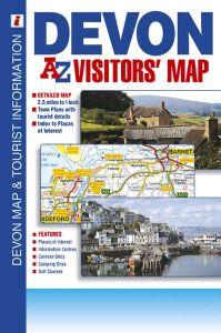 A-Z Visitor's Map - Devon
