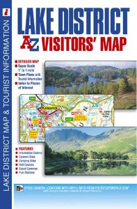 A-Z Visitor's Map - Lake District