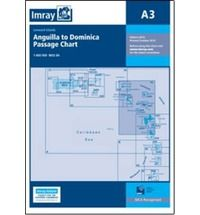 Imray A Chart - Anguilla To Dominica (A3 )