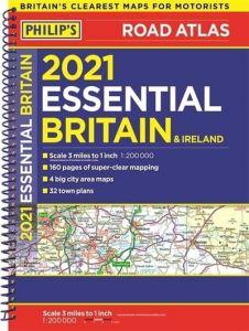 Philips Essential Road Atlas Britain & Ireland