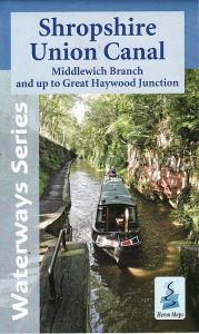 Heron Waterway Map - Shropshire Union Canal: Middlewhich - Gt Haywood