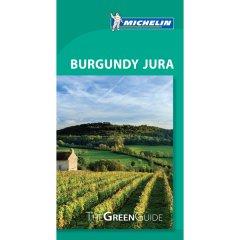 Michelin Green Guide - Burgundy Jura