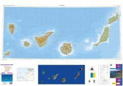 CNIG Spanish Autonomous Region Series Map - Canary Islands