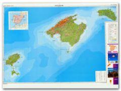 CNIG Spanish Autonomous Region Series Map - Balearic Islands